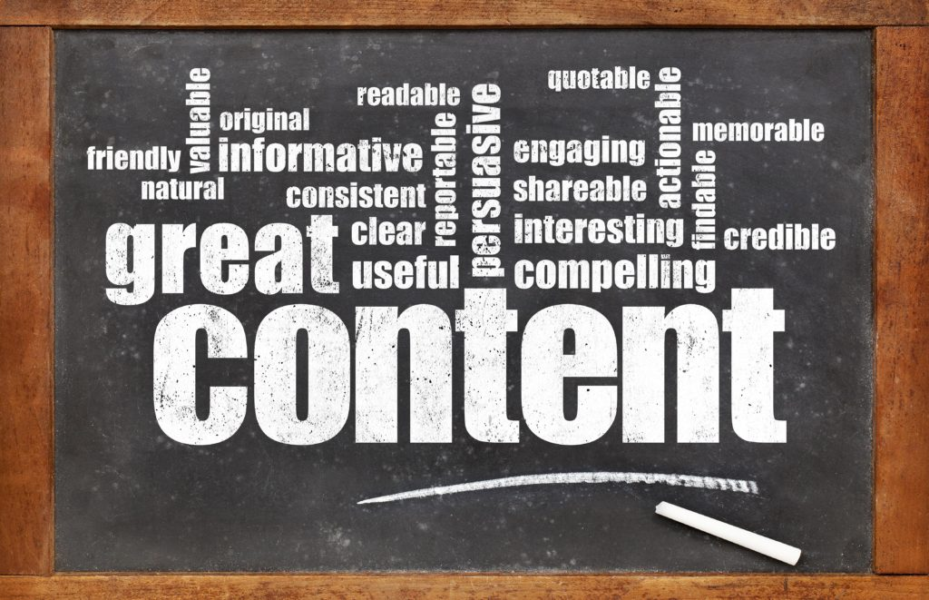 website content greensboro nc