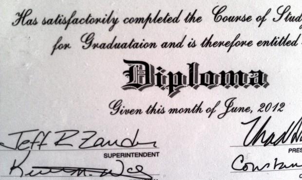 Graduates Wait for Corrected Diplomas