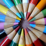 Sharpened Color Pencils